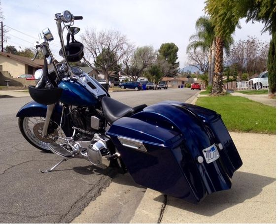 Custom Softail Bagger For Sale or Trade - Harley Davidson Forums