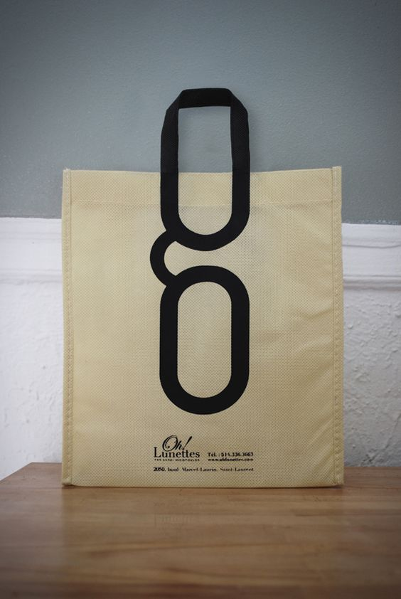 OH! LUNETTES shopping bag