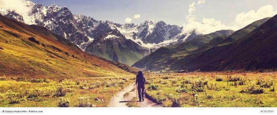Zeit für Abenteuer - in einer Natur, die uns so klein erscheinen lässt, gibt es vieles zu entdecken! #Natur #Abenteuer