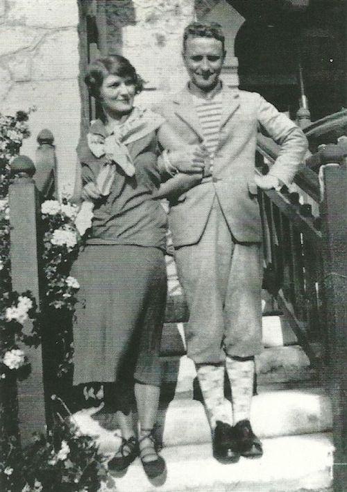 showstudio:  F. Scott Fitzgerald and wife Zelda in the Antibes...