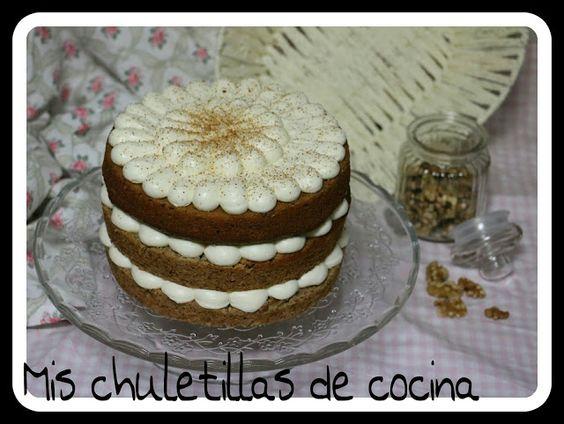 Mis Chuletillas de Cocina: Hummingbird Cake o Tarta Colibrí