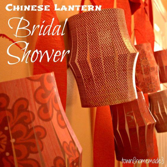 Chinese Lantern Bridal Shower