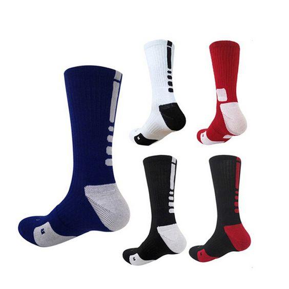 6 Colores Nuevo Diseño de Alta Calidad Espesar Toalla Calcetines de Algodón Peinado de Moda Para Hombres de La Venta Caliente Otoño Invierno Calcetines Largos