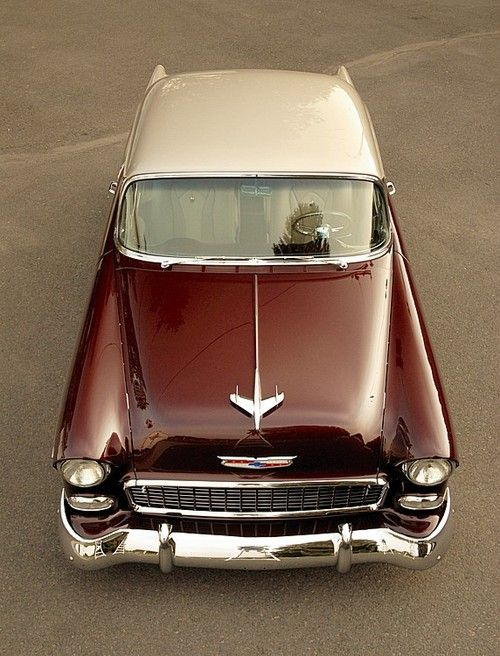 1955 chevy bel air. dream car! i actually want the '54 in turquoise. that's my second dream car!