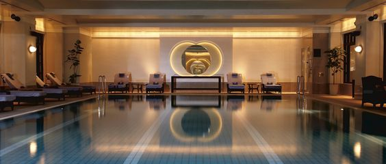 Enjoy The Ritz-Carlton, Tokyo and relax, refresh and rejuvenate in the tranquil Spa pool.