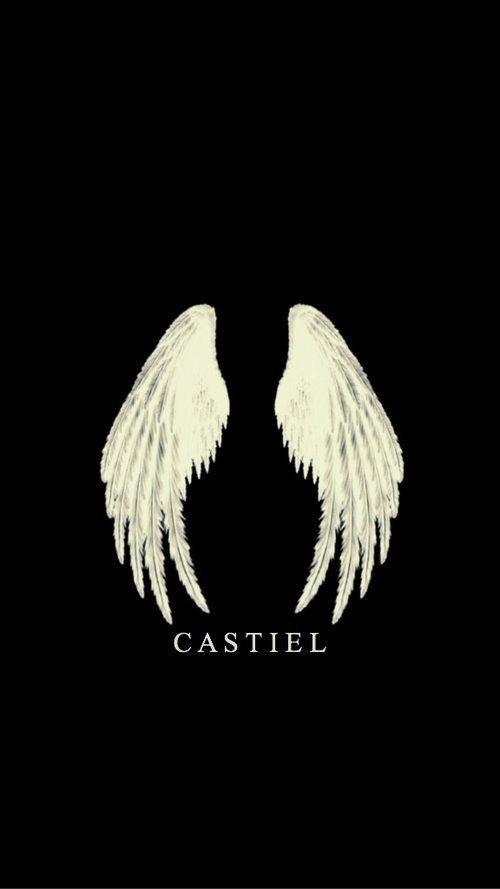 A Pretty Angel Castiel Spn Supernatural Deanwinchester Wallpaper Supernatural Wallpaper Supernatural Supernatural Fandom