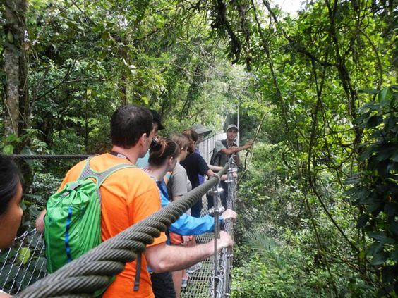 top things to do in la fortuna and arenal - hanging bridges
