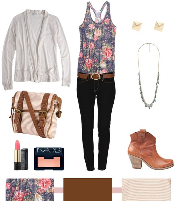 Country Chic...: Floral Tops, Diff Shoes, Summer Outfit, Floral Country, Cute Outfits, Fall Outfits, Clothes Shoes Jewelry, Country Chic Outfits