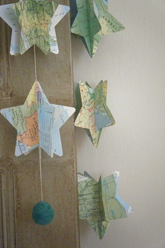 Papiermobile, mobiles and sterne on pinterest