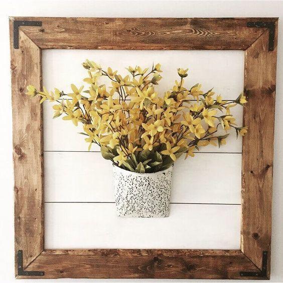 Naturally Framed Bouquet