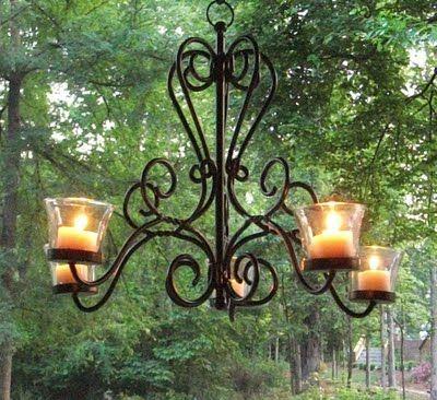 Excellent Outdoor Candle Chandelier – Outdoor Votive Candle Chandelier