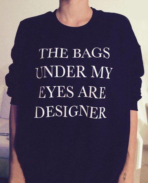 Women's Simple Letter Pattern Loose Long Sleeve Sweatshirt