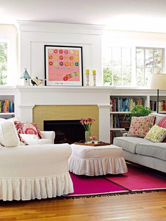 BHG Living Space Arrangements