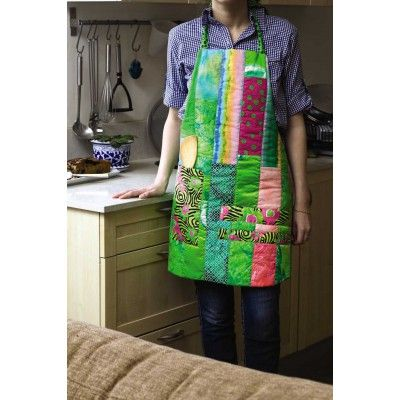 a quilted apron