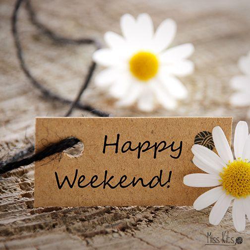 ¡Feliz fin de semana!: