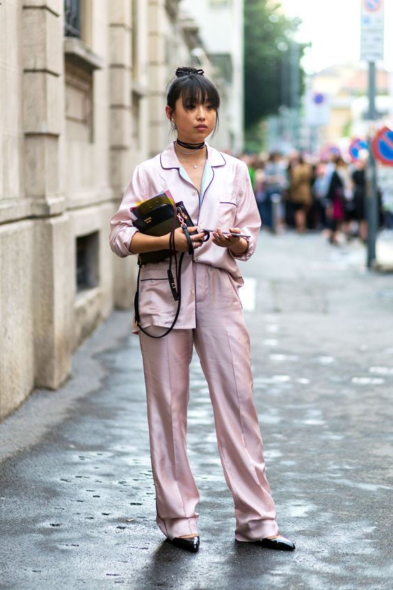 The Best Pink Street Style: