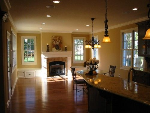 Hearth room home decor pinterest hearth kitchen for House plans with hearth rooms