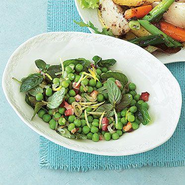 Erbsen-Speck-Salat