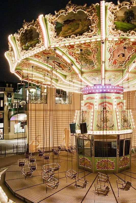 "Vienna, Austria ~ permanent amusement park called the ""Prater"". Gonna ride this."
