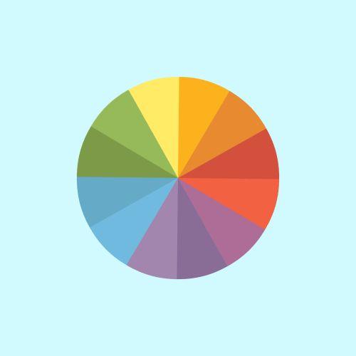 Colour wheel #gif