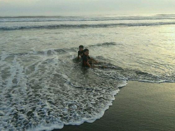 Disfutando el mar