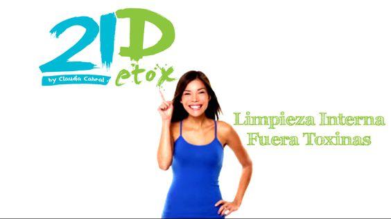 Nutre tu cuerpo Libéralo de toxinas Elimina grasa Recupera sistema digestivo Rejuvenece  http://www.metaboli-k.com/21detox