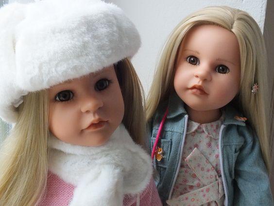 Meine 2 Nore Puppen von Götz Steiff