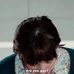 """Are you gay?"".... #50ShadesOfGrey"