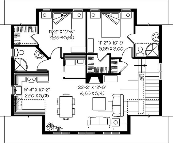 3 bedroom garage apartment plans garage plans pricing for Two unit apartment plans