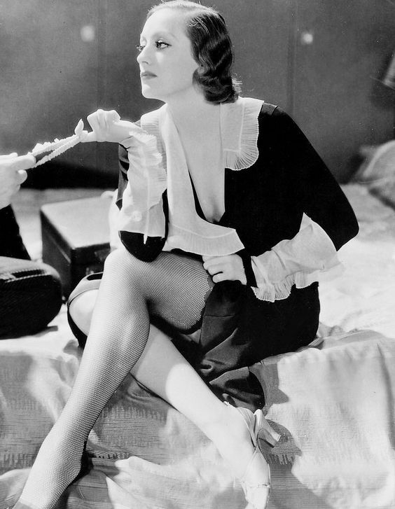 Joan Crawford in Grand Hotel, 1932: