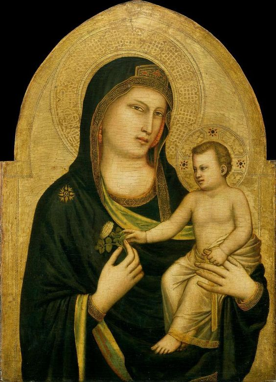 Madonna and Child 1320-25 Giotto