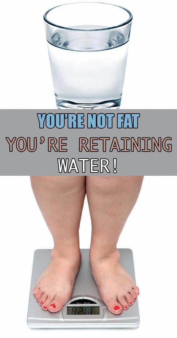 does keto diet retain water