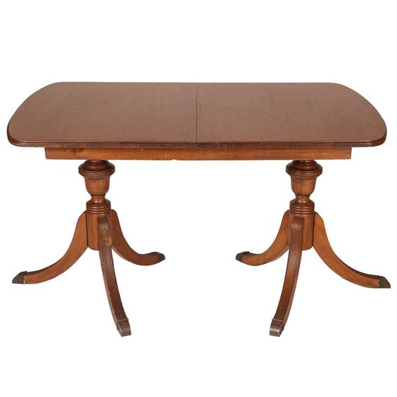 Duncan phyfe dining tables and dining room tables on for Duncan 5 dining room table