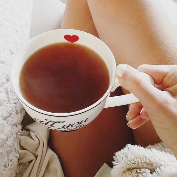 """""""All you need is love"""" and a nice hot tea for a cold monday morning  #coldsnap #floridaweather #hottea #cafejulie #teavana #drinkingtea #chocolatepeppermint #tea #floridawinter #sweaterweather #lovethisweather #fuzzypillow #fuzzyblanket #warmup #monday #mondaymorning #onthecouch #heart #coffee #latte #snowflake #allyouneedislove #love #home #holiday #holidayseason #florida by julieannefrenchfry"""