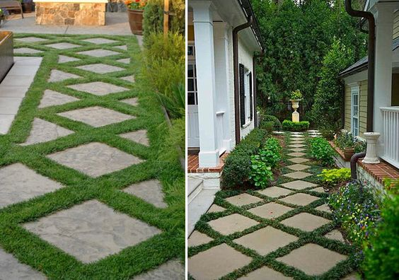 pavers...this would be sweet as a driveway!