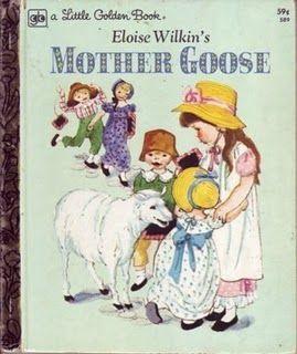 Little Golden Book: Eloise Wilkin's Mother Goose