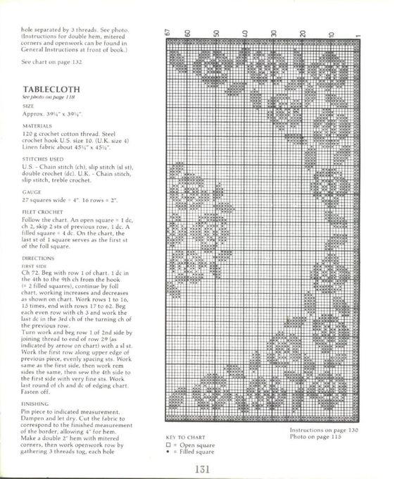 Crochet Filet 1:
