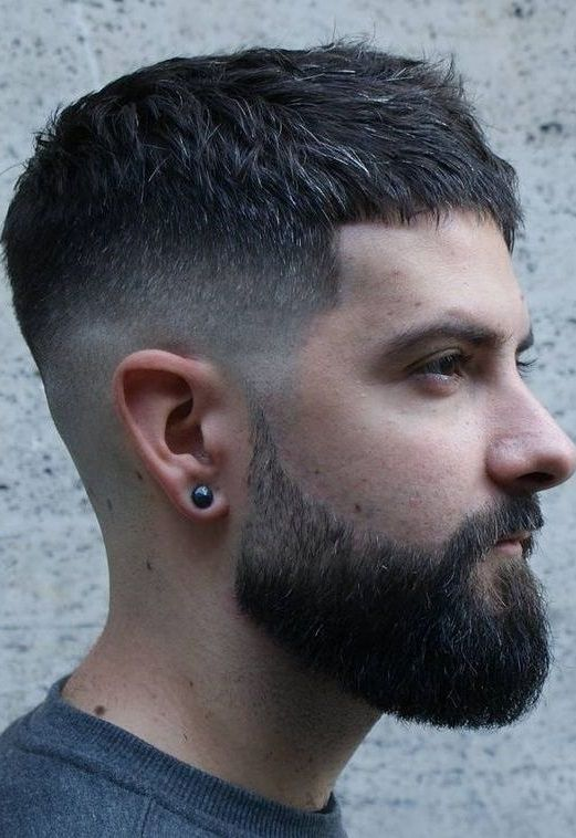 55 Best Short Hairstyle Ideas For Mens 2018 Pics Bucket Mens Haircuts Short Mens Hairstyles Short Short Hair With Beard