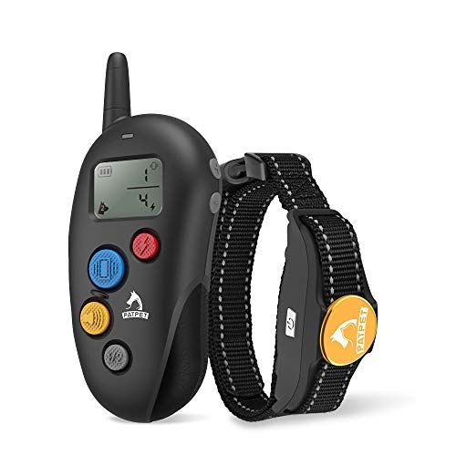 Dog Training Collar 100 Waterproof Shock Collar Dogs Beep