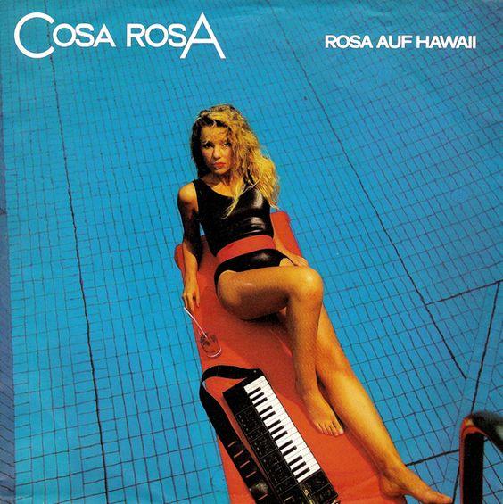 Cosa Rosa Rosa Auf Hawaii