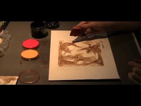 ▶ PanPastel - Video No. 4 - Walnut Ink - YouTube