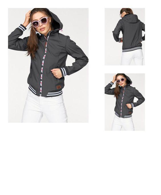 6927888912581 | #Ocean #Sportswear #Damen #Ocean #Sportswear #Softshelljacke #grau
