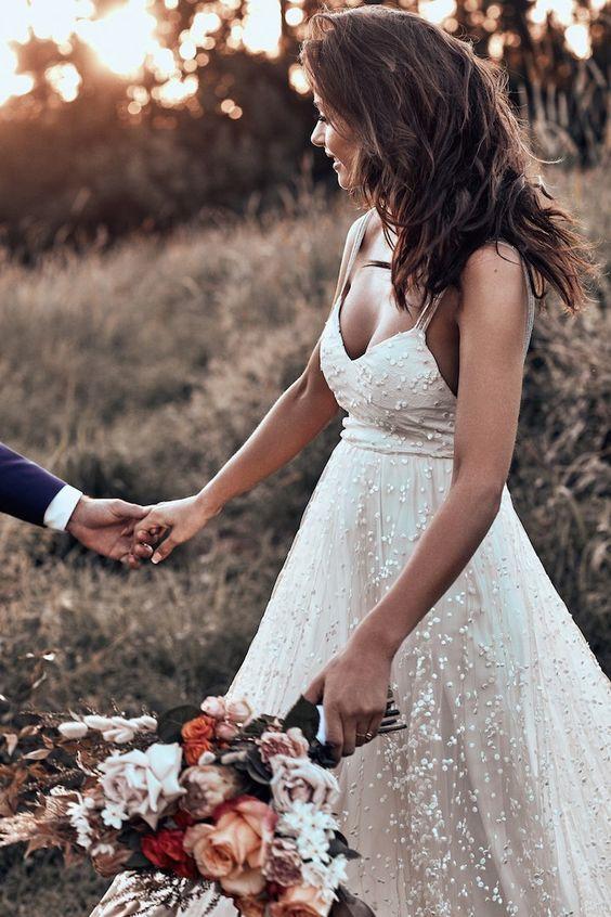 robe mariée bohème chic