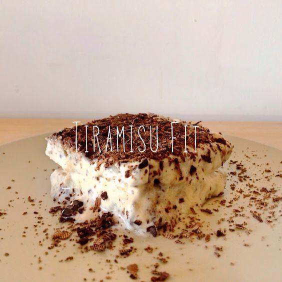 1000 Fit Meals: RECETA FITNESS: Tiramisú Light con Bizcocho de Avena