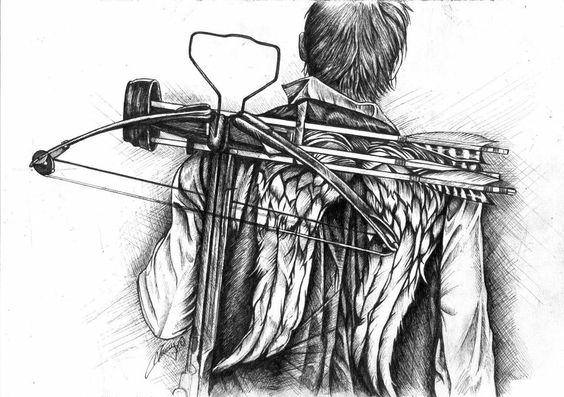 Daryl Dibujos Modelo Mexicano Daryl Dixon