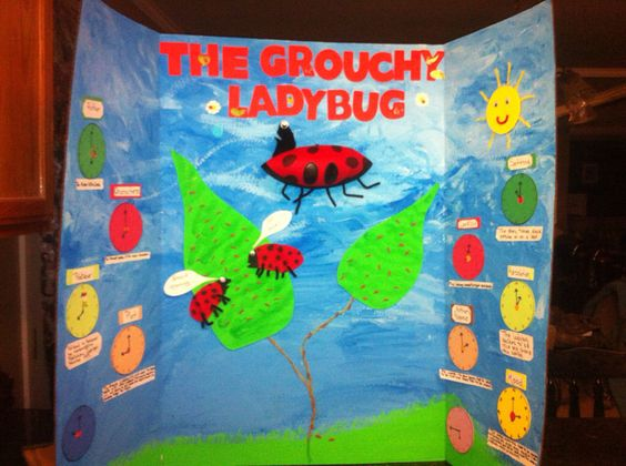 Grouchy ladybug by Jay Adcox 1st place in his school 2nd grade