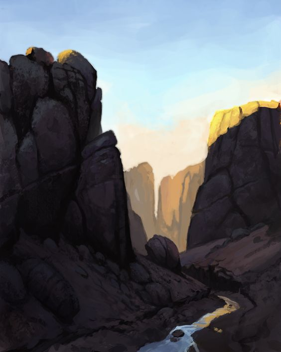 Landscape by M0AI.deviantart.com on @DeviantArt