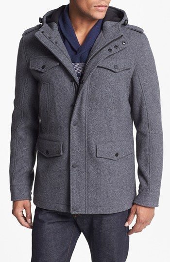 Black Rivet Coats