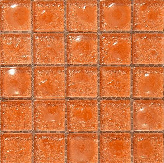 Orange Kitchen Backsplash Tile: Orange Kitchen Tiles