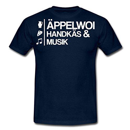Äppelwoi, Handkäs und Musik Männer T-Shirt von Spreadshir... https://www.amazon.de/dp/B00B2AD5P4/ref=cm_sw_r_pi_dp_x_pPFYxbZ3YF519